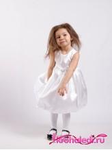 Нарядное детское платье Анита белое