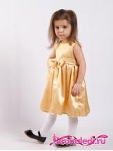 Нарядное детское платье Анита золото