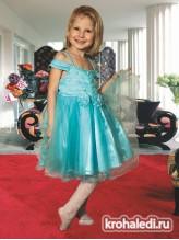 Нарядное детское платье Кокетка
