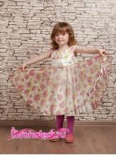 Нарядное детское платье Роза