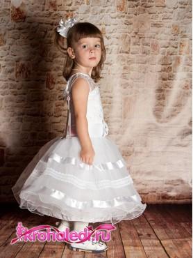 747ded3b98b Нарядное детское платье Снежинка Нарядное детское платье Снежинка ...