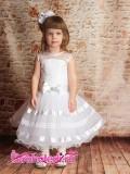 Нарядное детское платье Снежинка