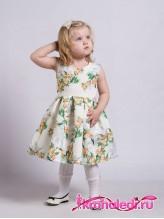 Нарядное детское платье Весна