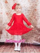 Нарядное детское платье Алена