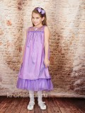 Нарядное детское платье Алина сиреневое