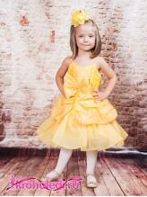 Нарядное детское платье Белль