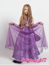 Нарядное детское платье Рапунцель