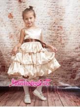 Нарядное детское платье Соня
