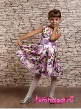 Нарядное детское платье Цветана