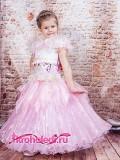 Бальное детское платье Цветочная фея