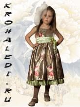 Нарядное детское платье Вивьен