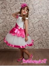 Нарядное детское платье Азалия