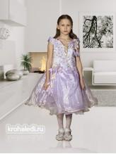 Нарядное детское платье Дюймовочка