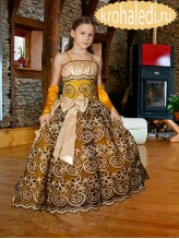 Бальное детское платье Императрица
