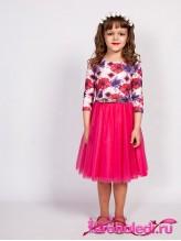 Нарядное детское платье Лана