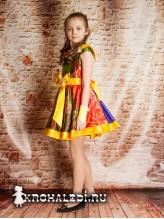 Нарядное детское платье Летний день