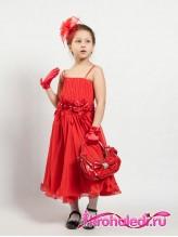 Нарядное детское платье Парижанка