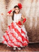 Нарядное детское платье Анжелика