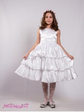 Нарядное детское платье Белоснежка
