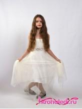 Нарядное детское платье Грация