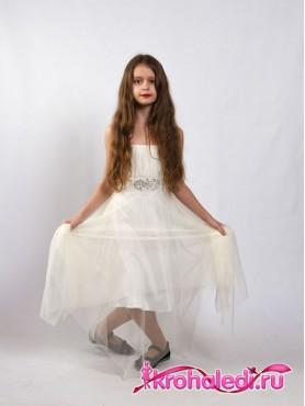 e10a0b15b8b4cec Детские нарядные платья в интернет-магазине Кроха Леди
