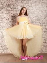 Нарядное детское платье Меланж