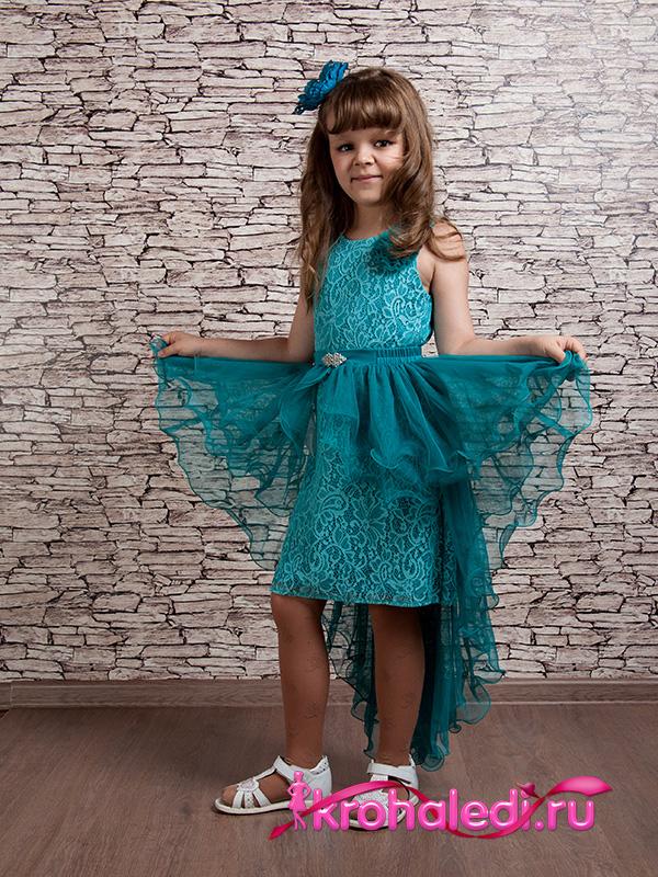 Нарядное детское платье Мишель