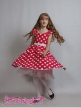 Нарядное детское платье Настасья