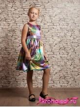 Нарядное детское платье Средиземноморье