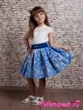 Нарядное детское платье Василиса