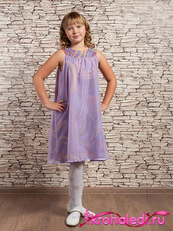 Нарядное детское платье Виола