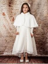 Детская меховая накидка Мадемуазель