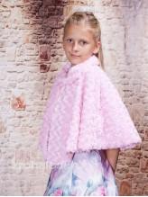 Детская меховая накидка Розовая Фея