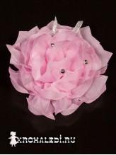 Школьный бант Лотос розовый