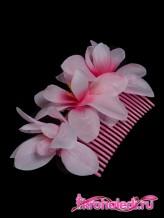 Гребень Магнолия розовый