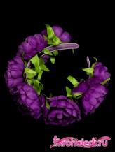 Детский ободок Лада фиолетовый