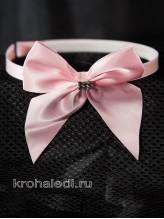 Детский ободок Прелесть розовый