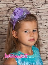 Детский ободок Виолетта