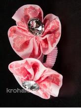 Пара резинок Кроха розовая
