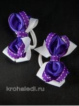Пара резинок Забава фиолетовая