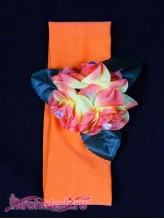 Повязка на волосы Милашка оранжевая