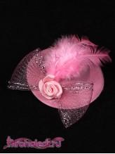 Зажим Леди розовый