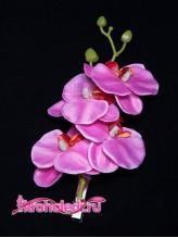 Зажим Орхидея фуксия