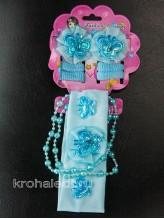 Комплект аксессуаров Модница голубой