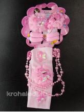Комплект аксессуаров Модница розовый