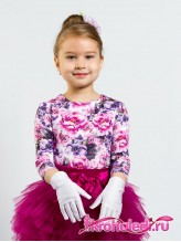 Детские перчатки Белый танец