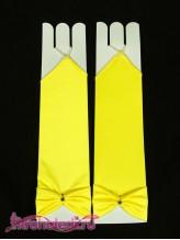 Детские перчатки Инфанта лимонные