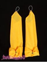 Детские перчатки Инфанта желтые