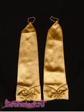 Детские перчатки Инфанта золото