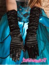 Подростковые перчатки Леди черные